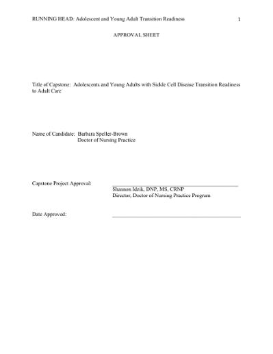 Browsing Doctor of Nursing Practice (DNP) / Master Scholarly