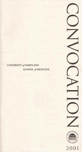 UNIVERSITY ofMARYLAND SCHOOL ofMEDICINE