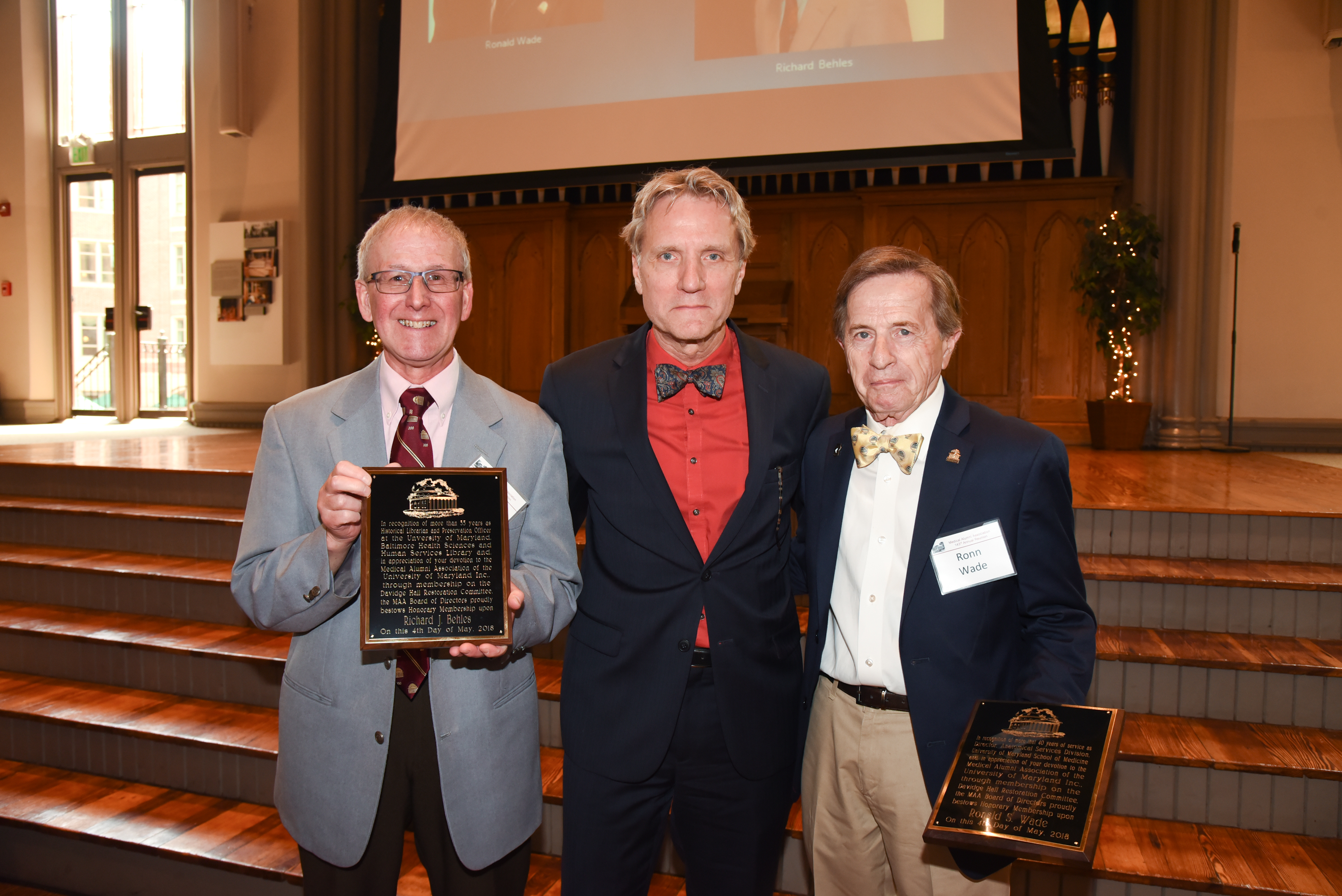 UMB Digital Archive: Richard Behles awarded honorary member of the ...