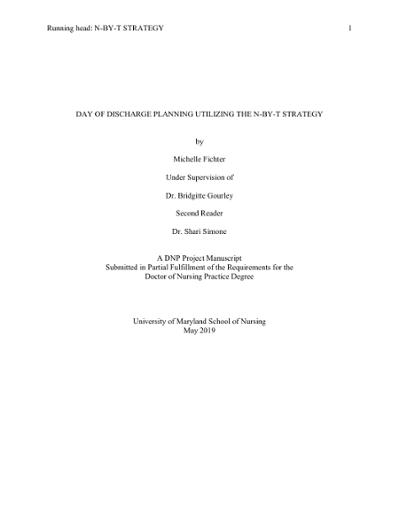 Browsing Doctor Of Nursing Practice DNP Master Scholarly